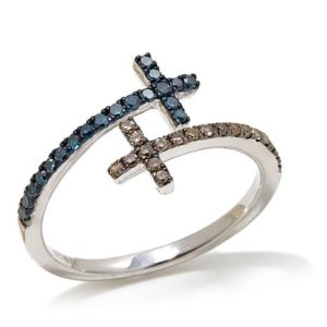 30ctw-blue-and-champagne-diamond-bypass-cross-ring491342